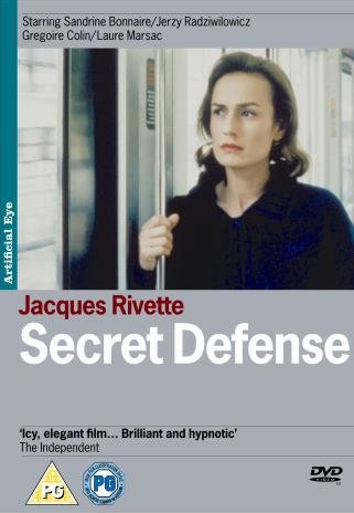 Тайная защита / Secret defense (Жак Риветт / Jacques Rivette) [1998 г., драма, DVD9 (custom)] VO + original, R2 (Artificial Eye)